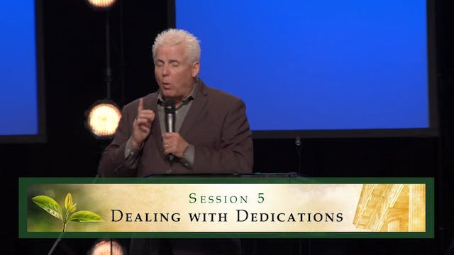 Receiving Healing from the Courts of Heaven - Session 5 - Robert Henderson