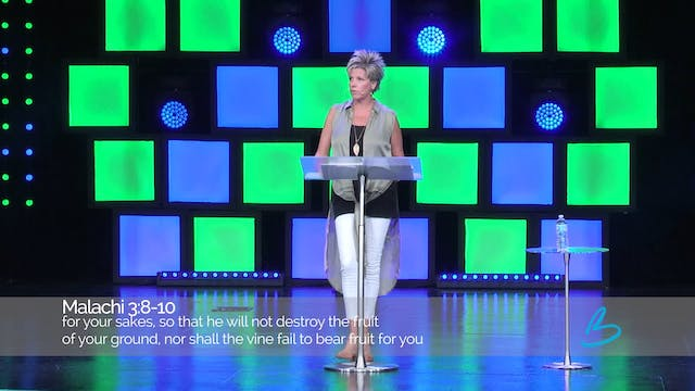 The Generous Life - Session 8 - Beth Jones