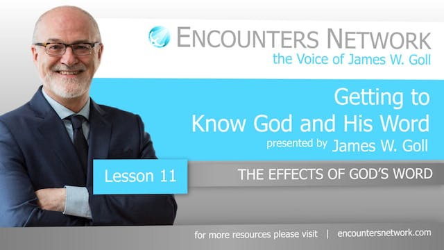 Getting To Know God and His Word - Th...