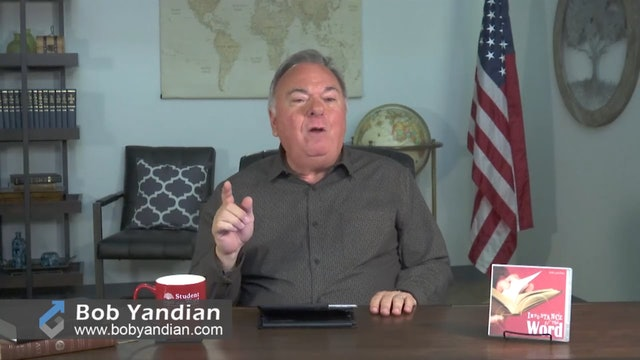 Episode 404-Why These Things Are Written-Bob Yandian Ministries-Student of the Word