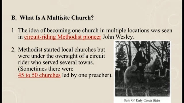 Churches Planting Reproducing Churches - Session 7 - Dr. Elmer Towns