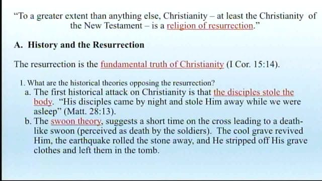 Apologetics And Logic - Session 8 - D...