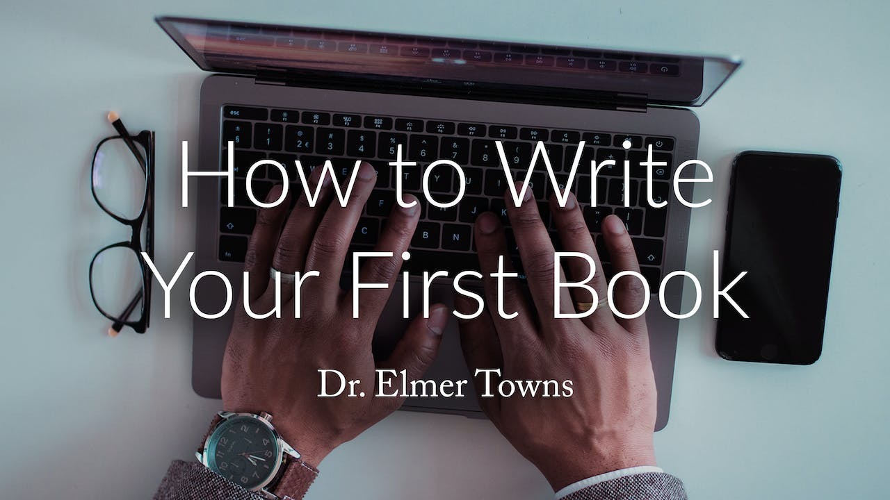 How To Write Your First Book Ecourse