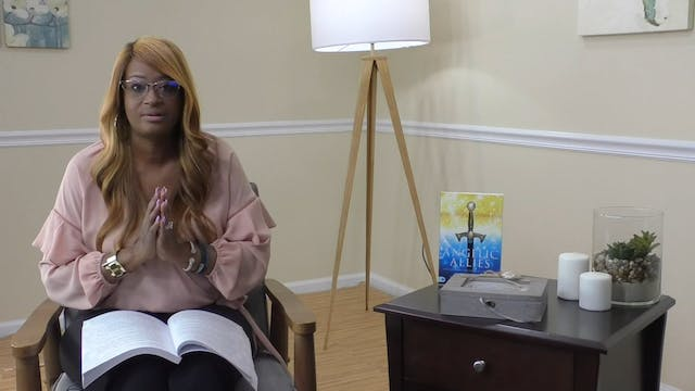 Angelic Allies - Session 1: Jesus's Ministry And Angels - Lenika Scott