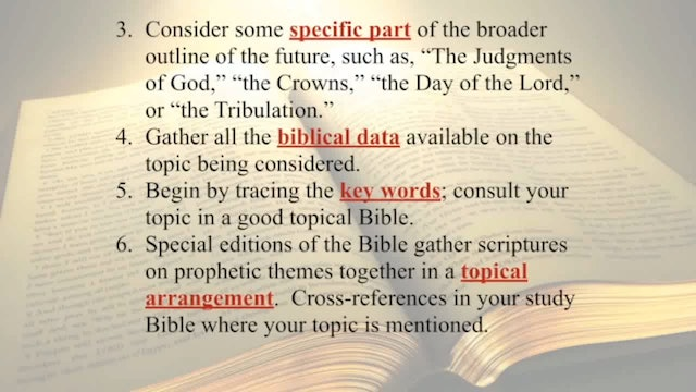 The Word Of God - Session 12 - Dr. Elmer Towns