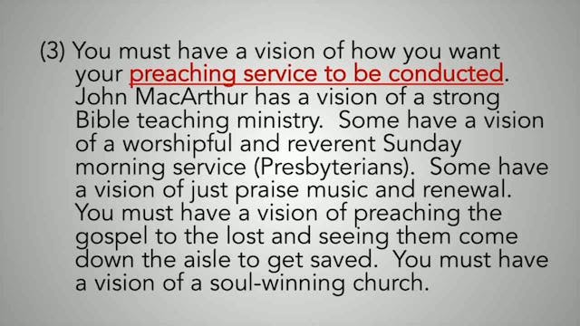 Creating A Culture Of Evangelism - Session 6 - Dr. Elmer Towns