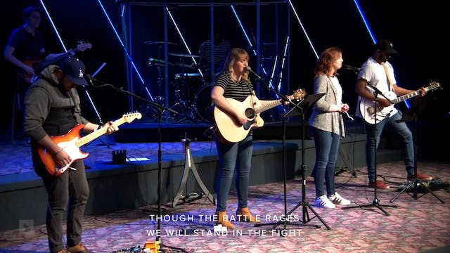 Catch The Fire Worship with Sarah Rid...
