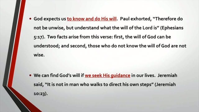 Introduction To The Christian Life - Session 3 - Dr. Elmer Towns
