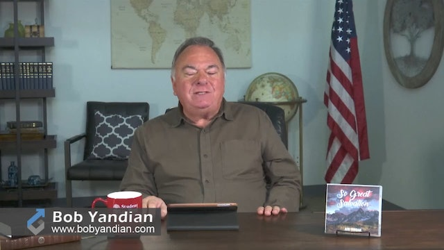 Episode 410-So Great Salvation-Part 1-Bob Yandian Ministries-Student of the Word