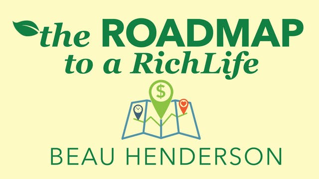 The Road Map to a Rich Life Masterclass