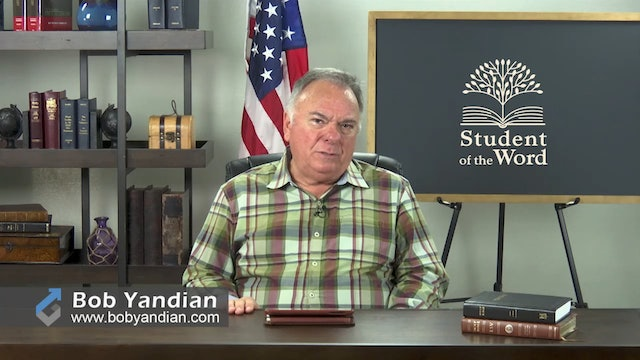 Episode 027-The Importance of the Local Church-Part 2-Bob Yandian Ministries-Student of the Word