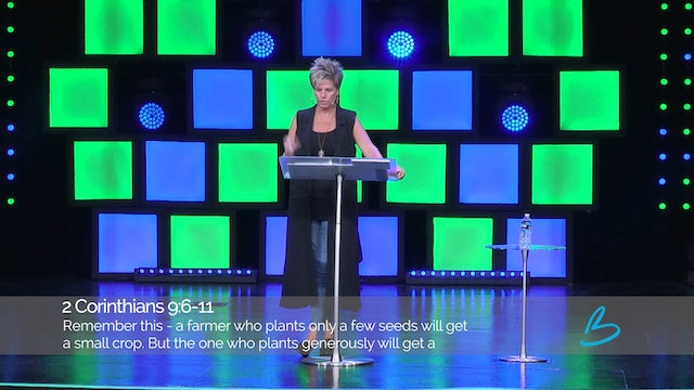 The Generous Life - Session 12 - Beth Jones