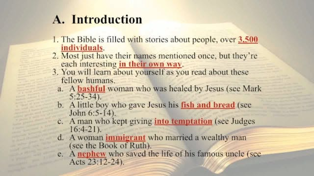 The Word Of God - Session 9 - Dr. Elm...