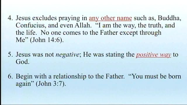 Apologetics And Logic - Session 10 - ...