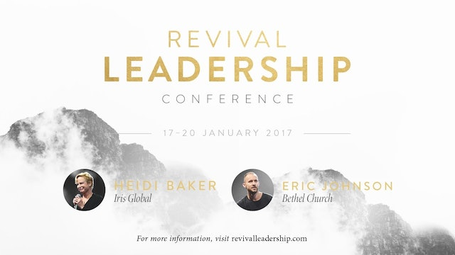 Revival Leadership 2017 - Stu & Chloe Glassborow (Session F)