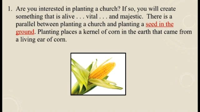 Churches Planting Reproducing Churches - Session 1 - Dr. Elmer Towns