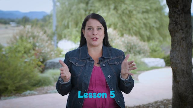 GOD AND ME TEACHER VIDEO LESSON 5