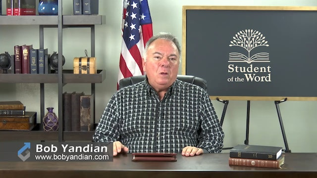 Episode 028-The Importance of the Local Church-Part 3-Bob Yandian Ministries-Student of the Word