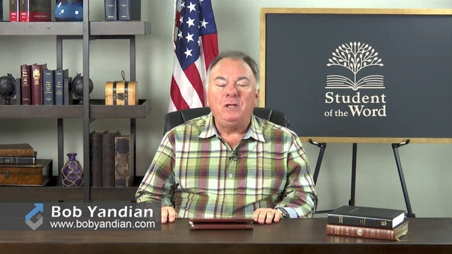 Episode 029-The Importance of the Local Church-Part 4-Bob Yandian Ministries-Student of the Word