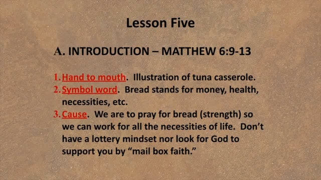 Spiritual Factors Of Ministry - Session 8 & 9 Part 2 - Dr. Elmer Towns