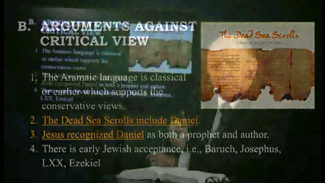 Survey Of The Old Testament - Session 11 - Dr. Elmer Towns