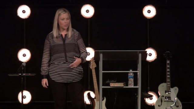 Created for the Impossible - Session 1: God Cares For You - Krissy Nelson