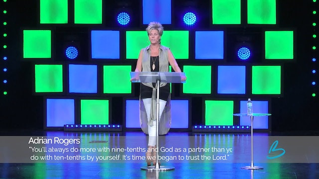 The Generous Life - Session 9 - Beth Jones