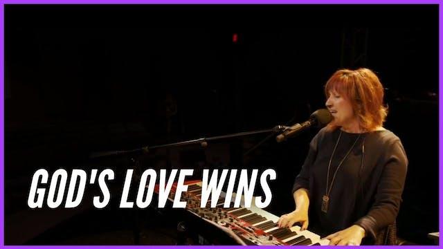 God's Love Wins  Prophetic Worship wi...