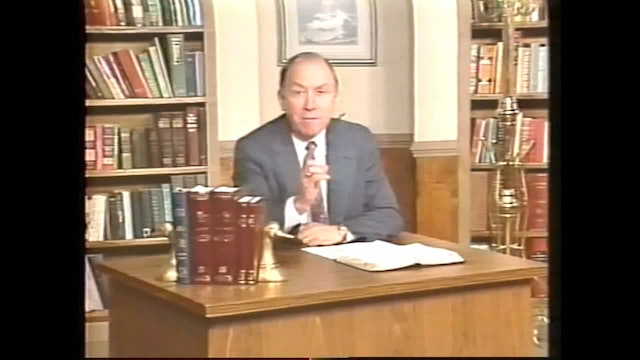 My Father's Name - Session 2 - Dr. Elmer Towns