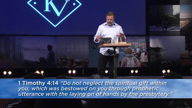 Basic Training for the Prophetic Ministry - Session 8 - Kris Vallotton