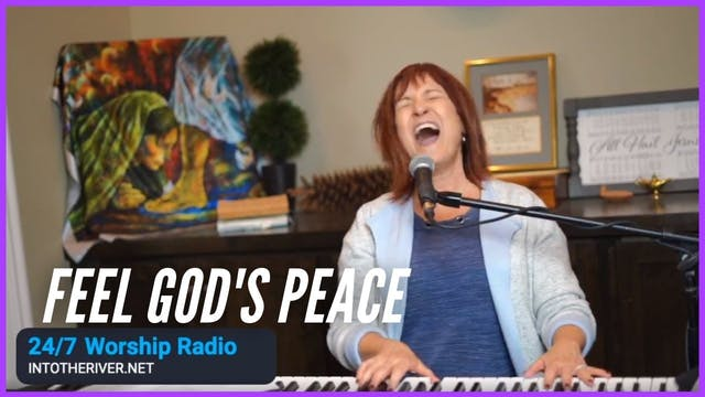 Feel God's Peace  Prophetic Worship w...