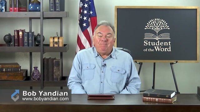 Episode 030-The Importance of the Local Church-Part 5-Bob Yandian Ministries-Student of the Word