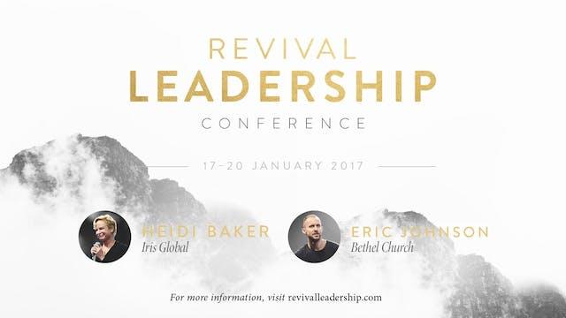 Revival Leadership 2017 -Worship with Jonathan Clarke & Ruth Preston (Session B)