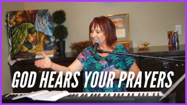 God Hears Your Prayers  Prophetic Wor...