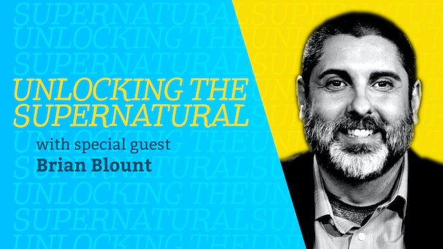 Episode 1: Unlocking the Supernatural with Brian Blount