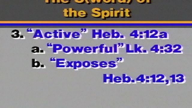 The Armor of God - Session 18