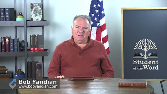 Episode 040-Victory In Adversity-Part 4-Bob Yandian Ministries-Student of the Word