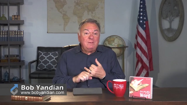 Episode 305-Continue In The Word-Part 2-Bob Yandian Ministries-Student of the Word