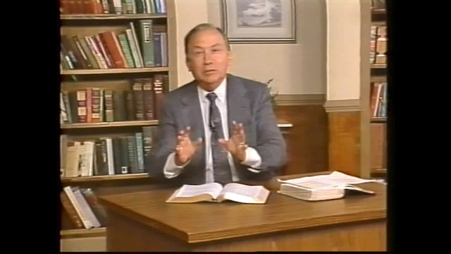 My Father's Name - Session 1 - Dr. Elmer Towns
