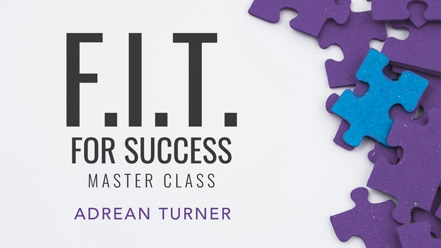Fit For Success Masterclass