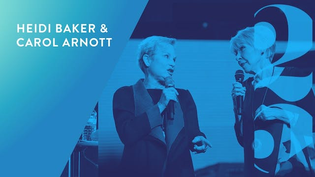 Heidi Baker and Carol Arnott - Revival 25 Conference (Session 6)