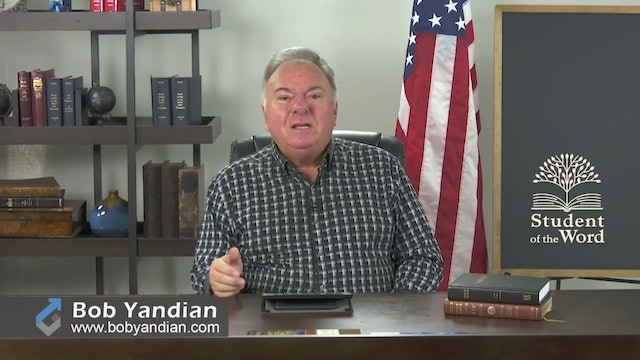 Episode 102-Lessons in Redemption-Part 2-Bob Yandian Ministries-Student of the Word