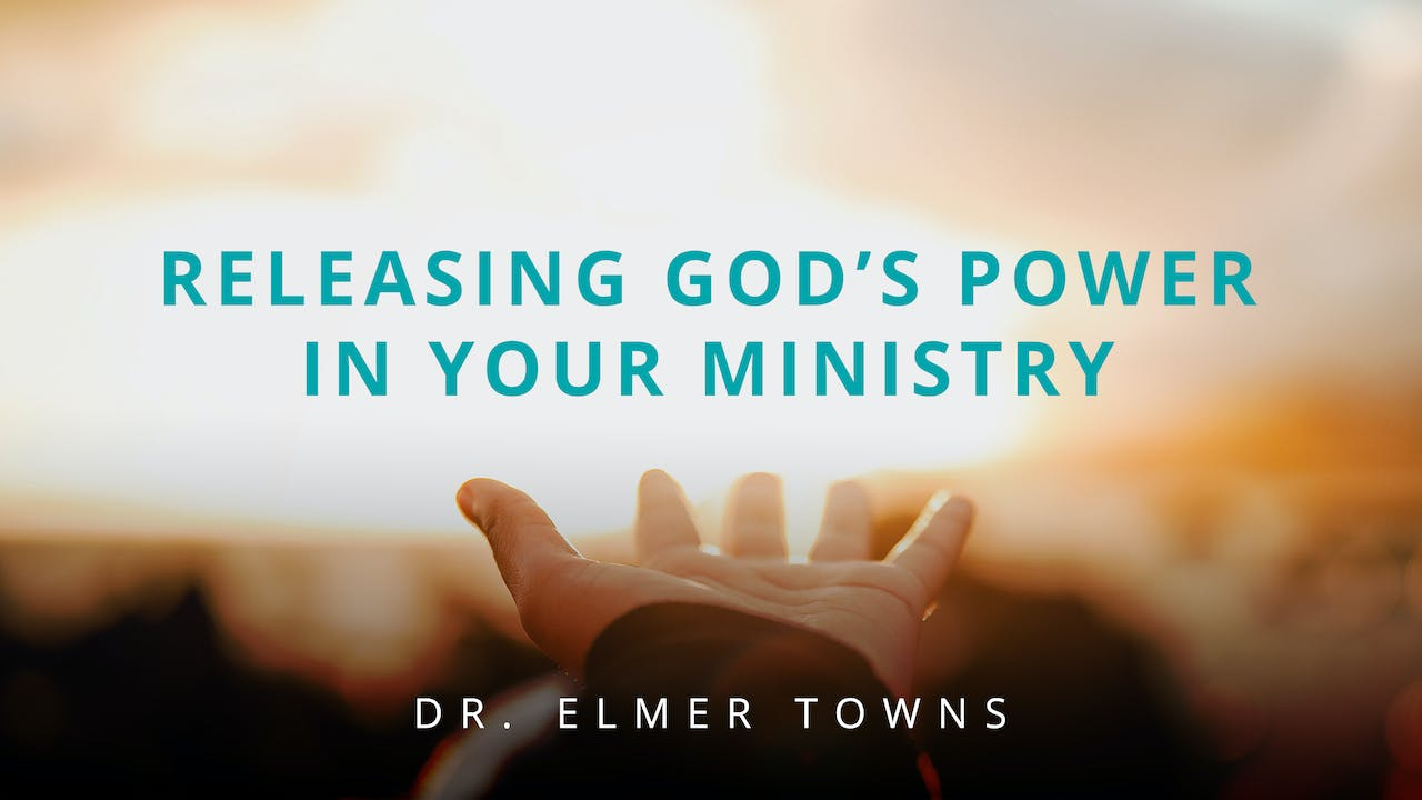 Releasing God's Power In Your Ministry Ecourse