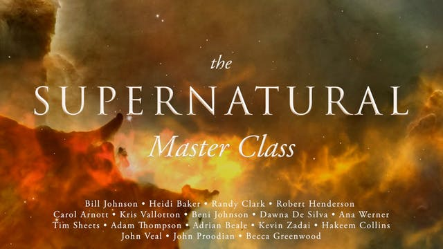 Session 18 - Supernaturally Prophetic...
