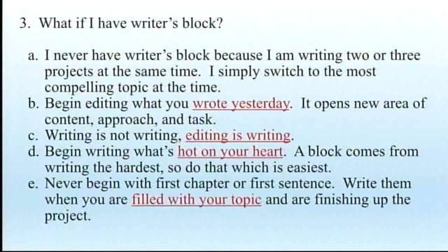 How To Write Your First Book - Session 6 - Dr. Elmer Towns