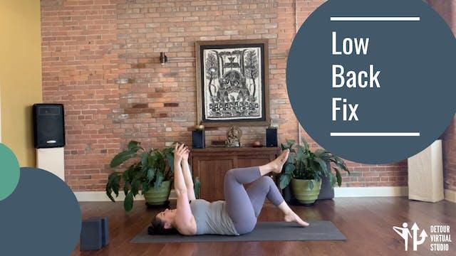 Low Back Fix