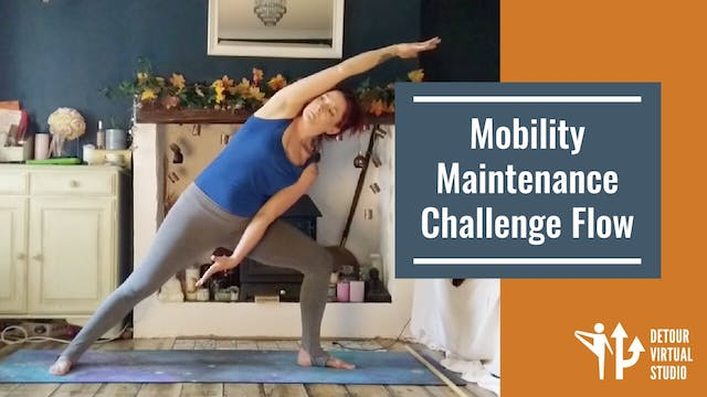 Mobility Maintenance Challenge Flow