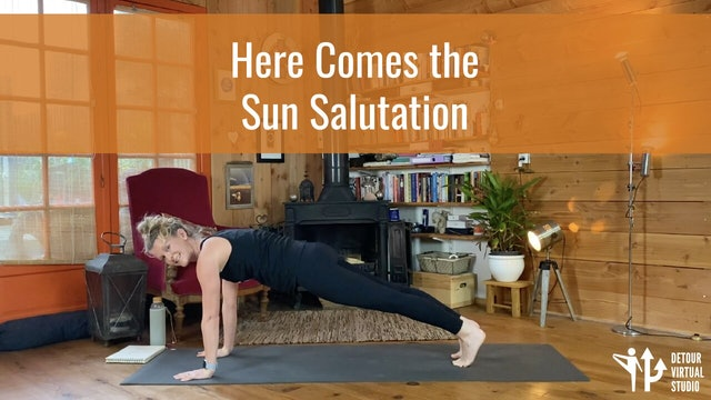 Here Comes the Sun Salutation!