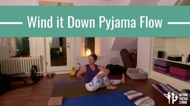 Wind it Down Pyjama Flow