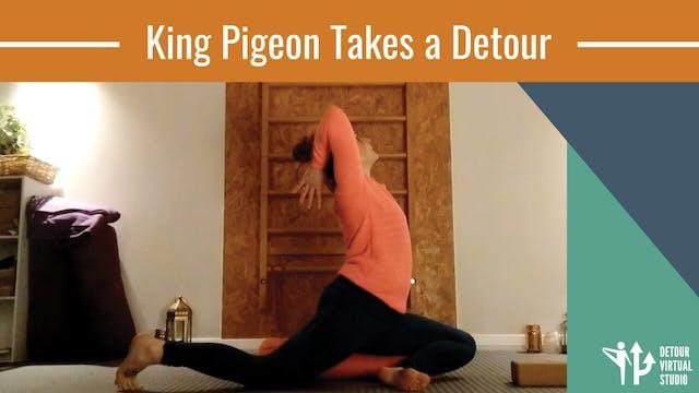 King Pigeon Takes a Detour